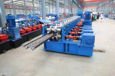 China High Way Crash Barrier Panel Roll Forming Machine Two Waves and Three Waves factory