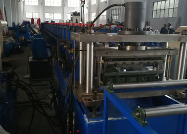 China GCR15 Roller Material Rack Rolling Machine , Shelf Cold Forming Machine With Cr12Mov factory