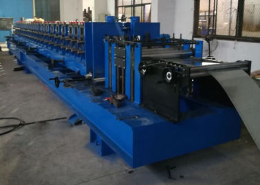 China 7.5KW Power Rack Roll Forming Machine , Shelf Box Roll Forming Equipment Electronic Control factory