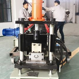 2-3 M / Min Vineyard Post Metal Roll Forming Machine With Hydraulic Punching