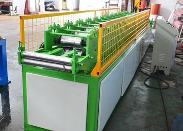 14 Steps Shutter Door Roll Forming Machine , Metal Forming Equipment PLC Control