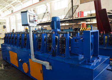 China 1.5-2.0mm Galvanized Steel Upright Angle Roll Forming Machine 5-10m / Min Speed distributor