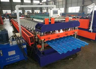 China Metal Roofing Sheet Rolling Former Machine , Cold Roll Forming Machine distributor