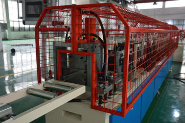 China 0.27-1mm Galvanized Steel Stud And Truck Roll Forming Machine With PLC distributor
