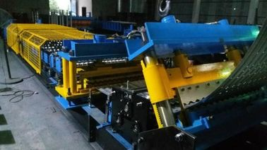 China Steel Silo Corrugated Side Panel Roll Forming Machine Arch Style Building Machine distributor