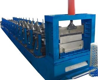 China Hydraulic Punching Cable Tray Roll Forming Machine , Rolling Form Machine Cr12mov factory