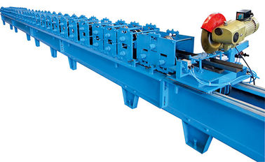 China Automatic Door Frame Roll Forming Machine With Plc Control , 1 Year Warranty Period factory