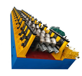 China 10m / Min 1.5-2mm Galvanized Steel Roll Forming Machine Servo Feeder Power 1.5Kw factory