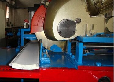 China 77mm Fully Automatic PU Shutter Door Roll Forming Machine Foam Filled Insulated factory