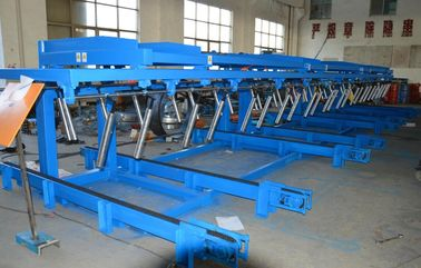China 12 Meters  Auto Stacker For Roll Forming Equipment Conveyer Belt Speed 36m / min distributor