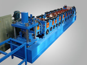 China JH21-125 Hydraulic Press Metal Shelf Rack Roll Forming Machine Chain Drive 1.5-2.5mm Galanized Steel factory
