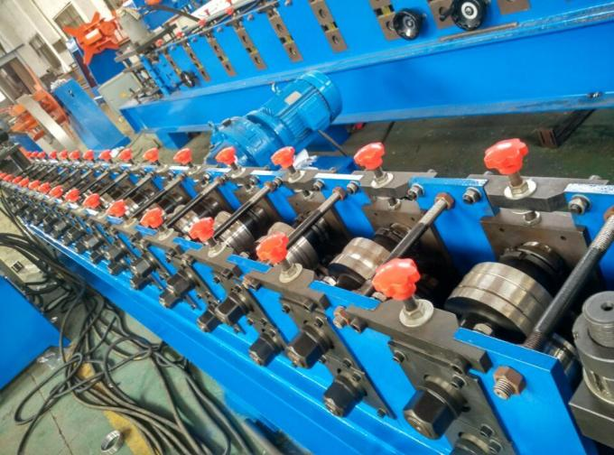 Automatic 13 Station C Channel Steel Roll Forming Machine 12m / min Customized