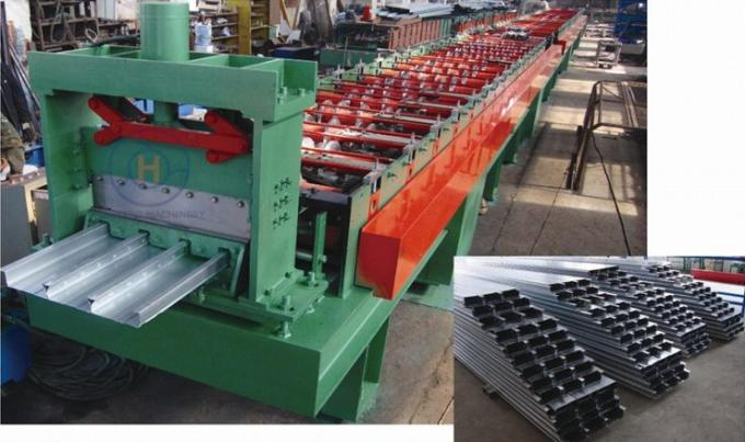 28 Roller Stations Fast Speed Floor Deck Roll Forming Machines 1000mm Width