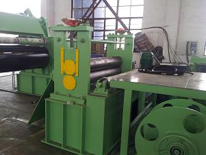 Professional Simple Hydraulic Steel Slitting Lines Metal Slitting Machine