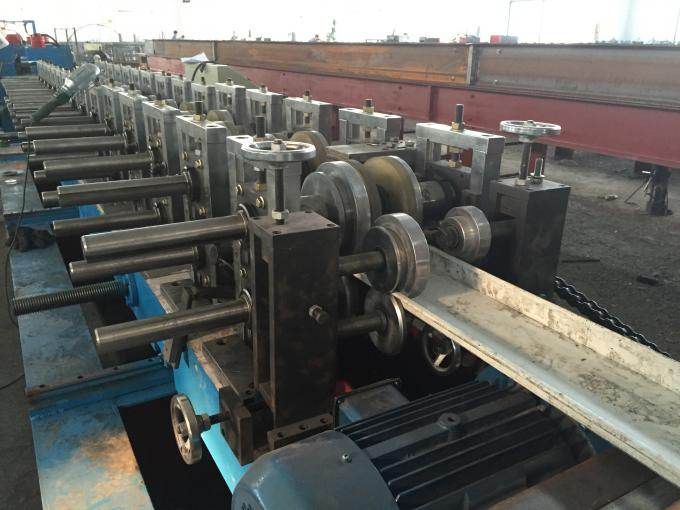 Gearbox Transmission Door Frame Roll Forming Machine High Speed