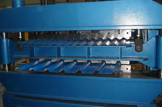 IBR Sheet / Corrugated Double Layer Roll Forming Machine Thickness 0.25mm-0.8mm