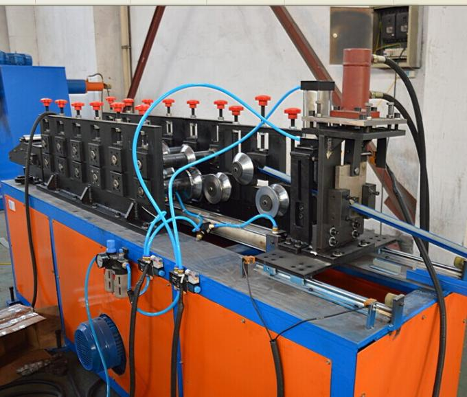 5.5 KW Sheet Metal Roll Forming Equipment High Speed Wall Angle Roll Forming Machine
