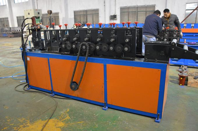 PLC control system wall angle channel roll forming making machine forming speed 20m per minute