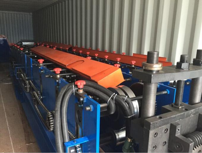 20mm Effective Width Curtain Rail Roll Forming Equipment 10mm Height 10 Stations