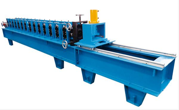 2 inches Guide Rail Roll Forming Machine Material Thickness 1.5-2mm 12 Stations