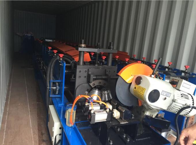 2.2Kw Metal Roof Panel Roll Forming Machine Main Motor Power 120 Max Curving Degree