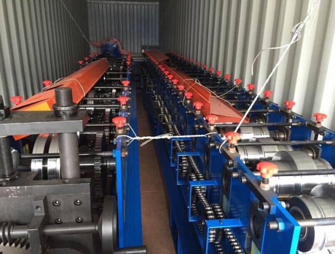 Fully PLC Control Automatic Hydraulic Punching Steel Silo Roll Forming Machine 1.5mm-3.5mm Thick Galvanized Steel