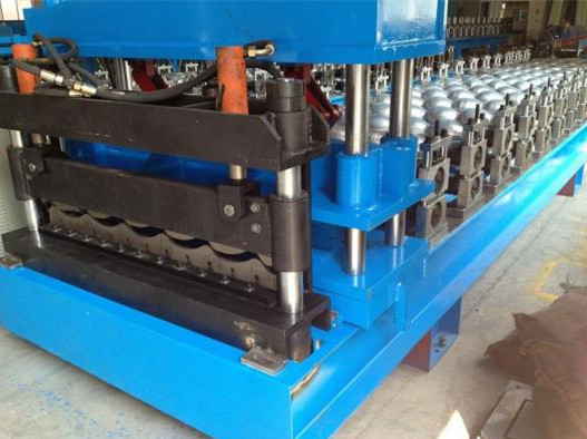 Steel Roof Glazed Tile Roll Forming Machine Professional 18 Stations