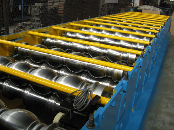 Galvanized Steel C Shaped Purlin Cold Roll Forming Equipment With PLC Panasonic