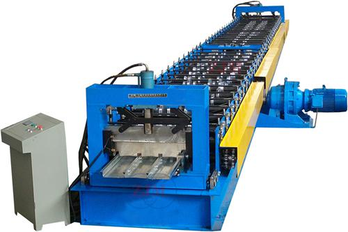 Fully Automatic Deck Floor Roll Forming Equipment 0 - 12 M / Min 28 Roller Stands