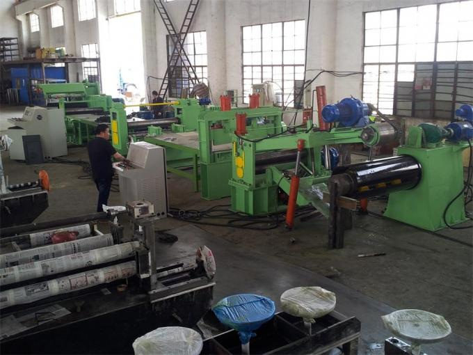 PLC with touch screen cold coil slitting machine