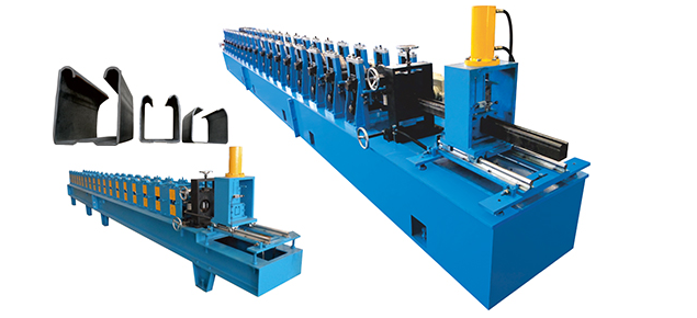 Chain Transmission Steel Roll Forming Machinery For 5.5mm - 6mm Profile Height