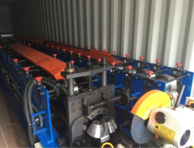Standing Beam Roof Panel Roll Forming Machine 4 - 8m / min 16 Stations