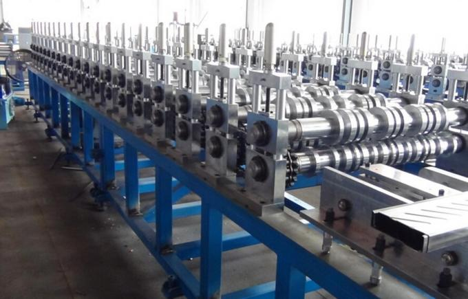 Glazed Steel Downspout Roll Forming Machine Galvanized Steel Pipe Production Line