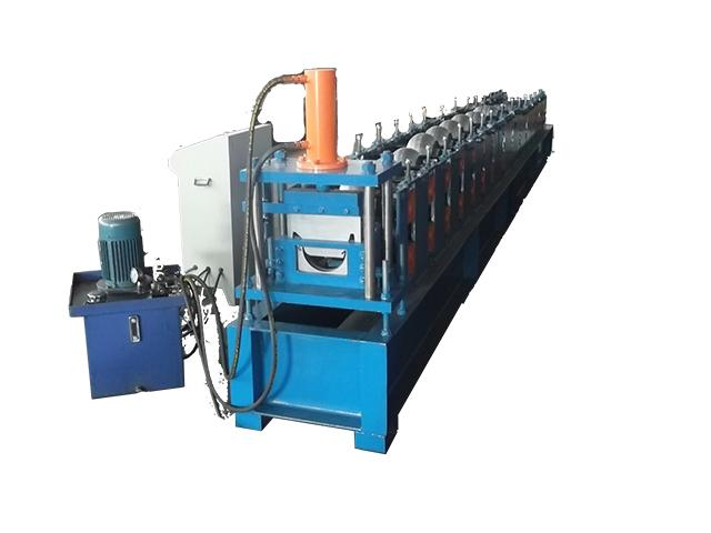 Touch Screen PLC Control Roof Gutter Making Machine Plate Roll Forming Machine