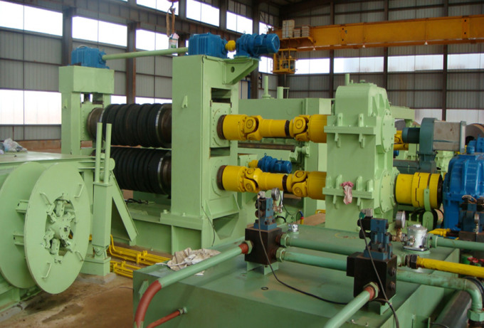 Metal steel slitting machine, slitting line, metal sheet cutting machine
