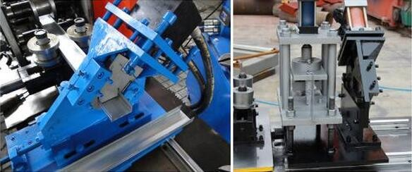 C Stud and U track roll forming machine CU metal stud partition suspended ceiling machine