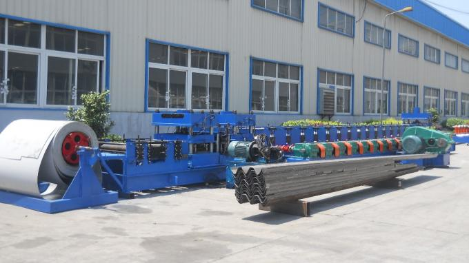 Highway Guardrail Roll Forming Machine Low Price