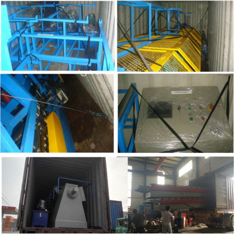 380V 50HZ Ceiling PU Sandwich Panel Production Line Foaming Machine
