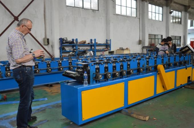 Ceiling Roofing Structure Aluminum Cable Trunking / Cable Tray Making Machine