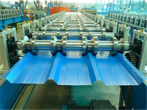 45# High Grade Steel Roof Panel Roll Forming Machine 12 Months Warranty 7.5KW