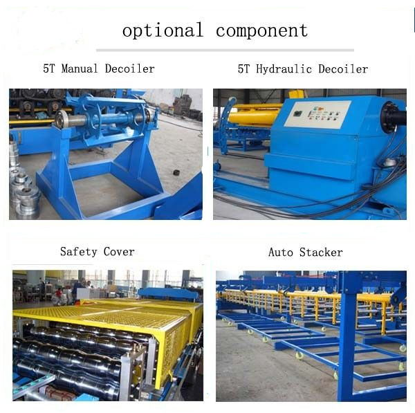 380V Stud And Track Roll Forming Machine Mild Steel Wall Angle Roll Former Machine