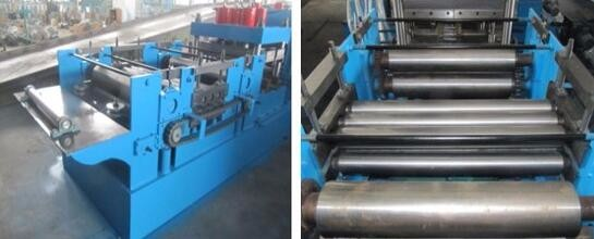Chain Drive C Z Purlin Roll Forming Machine 3500mm * 800mm * 800mm Roll Former Machine