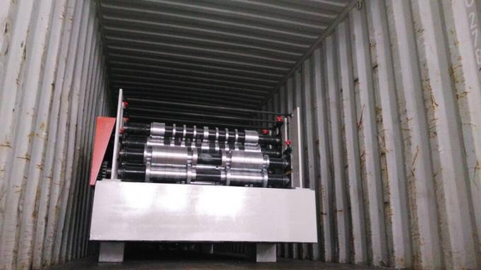 Q235 Steel Shelving Rack Roll Forming Machine 18 Stations CE Certification