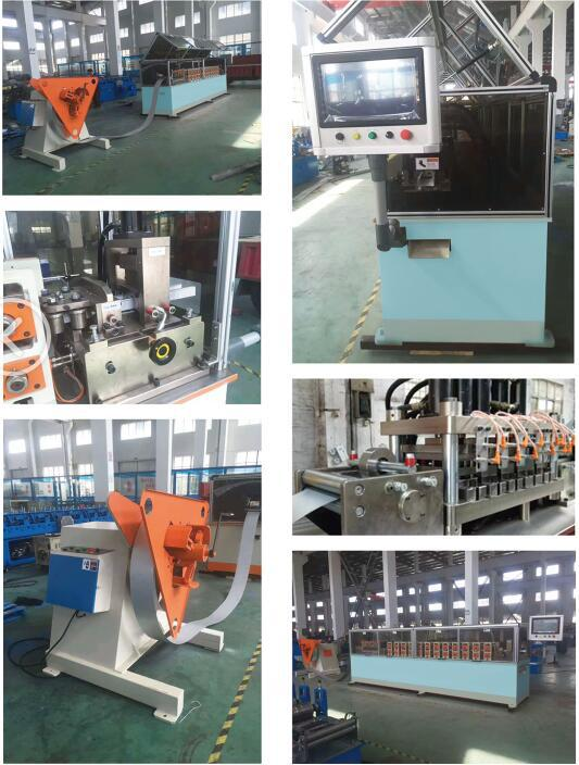 Stud And Track Roll Forming Machine , Roof Truss Roll Roll Forming Machine with Framing Software