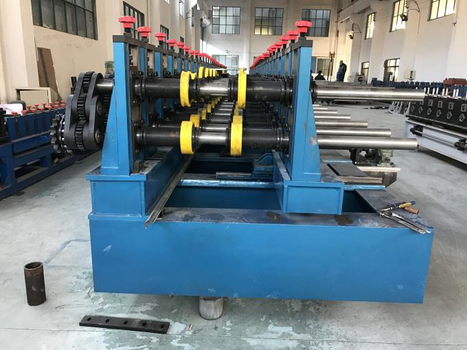 Galvanized Steel / Black Steel Cable Tray Making Machine GCr15 Roller Quench