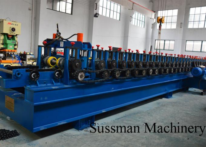 Automatic 22KW Light Duty Cable Tray Making Machine 5 Tons Hydraulic Decoiler