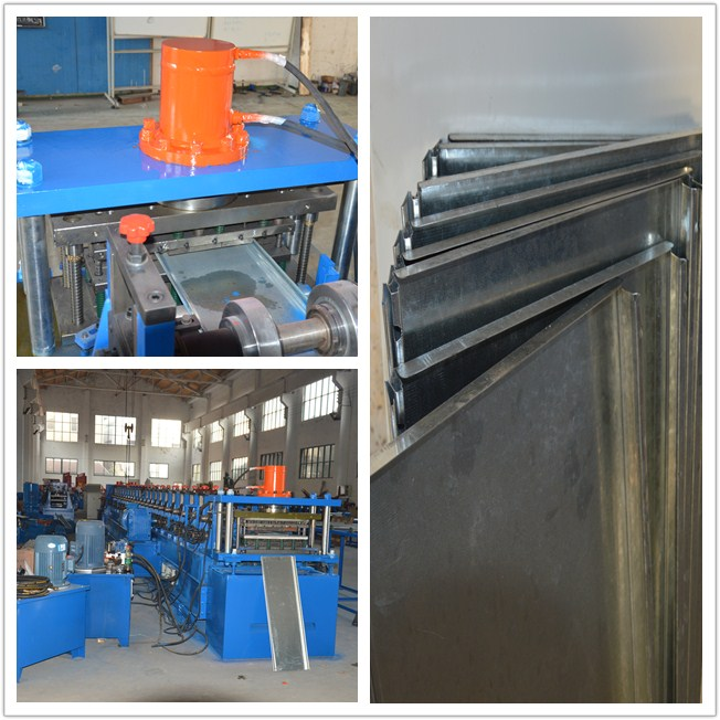 GCR15 Roller Material Rack Rolling Machine , Shelf Cold Forming Machine With Cr12Mov