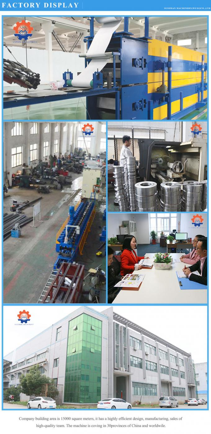 High Speed Discontinuous PU Sandwich Panel Production Line 950mm Panel Width
