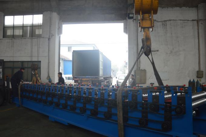 Double Layer Colour coated Steel Roof Panel Wall Panel Roll Forming Machine PLC Control Automatic
