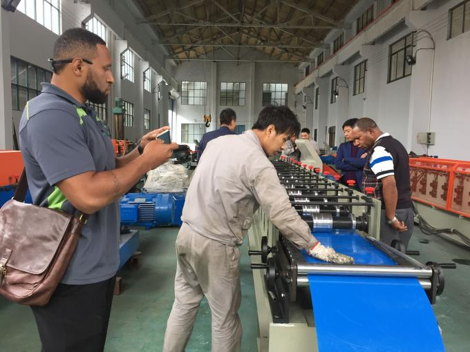 Durable Roof Tile Making Machine Double Glazing Roof Panel Roll Forming Equipment